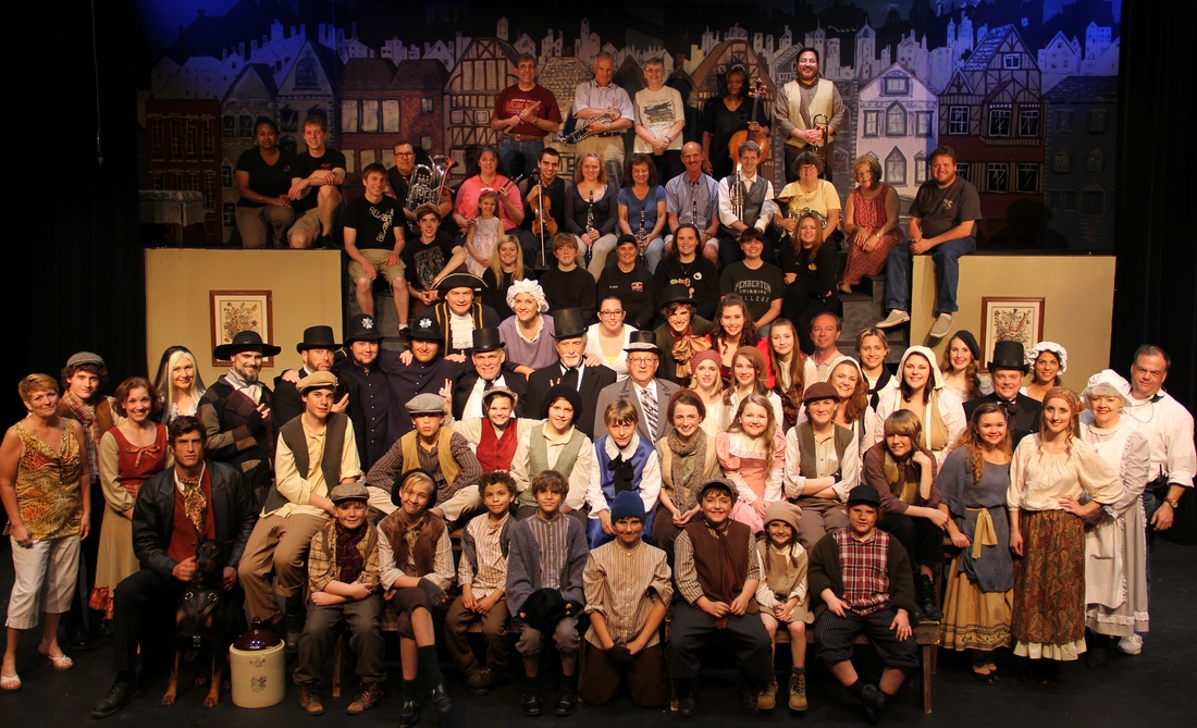 Oliver Cast Photo May 24, 2013