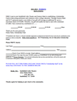 Scholarship Donation Form
