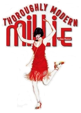 Thouroughly Modern Millie Logo
