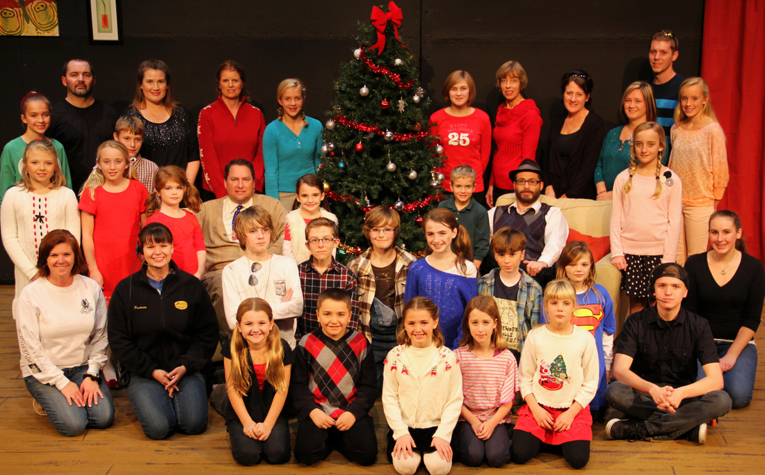 The Best Christmas Pageant Ever Cast Photo