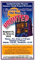 I Sincerely Doubt That This Old House Is Very Haunted Poster
