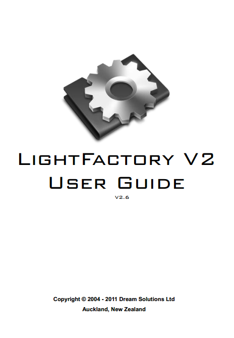 Light Factory V2 User Guide