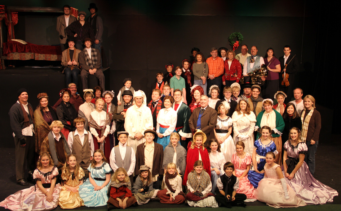 Christmas Carol 2012 Cast Photo
