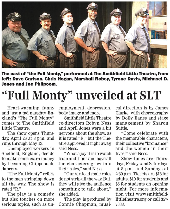 The Full Monty Smithfield Times Newspaper Story