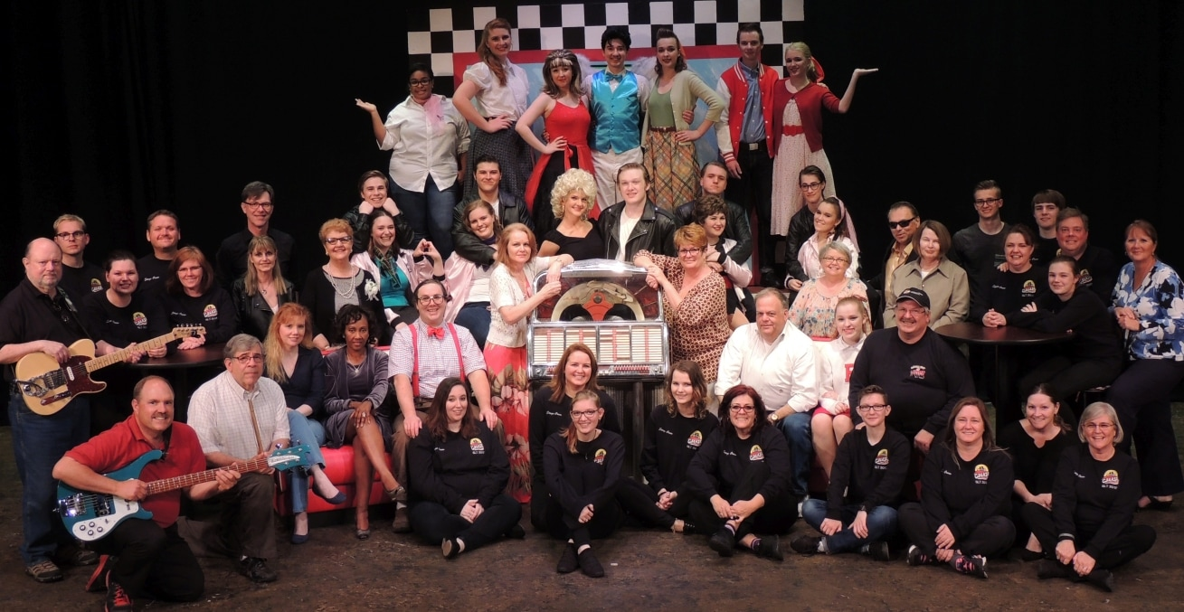Grease Cast and Crew