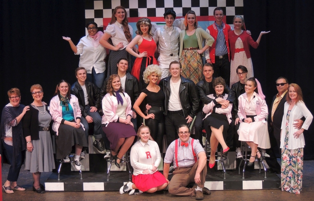 Grease Cast and Directors